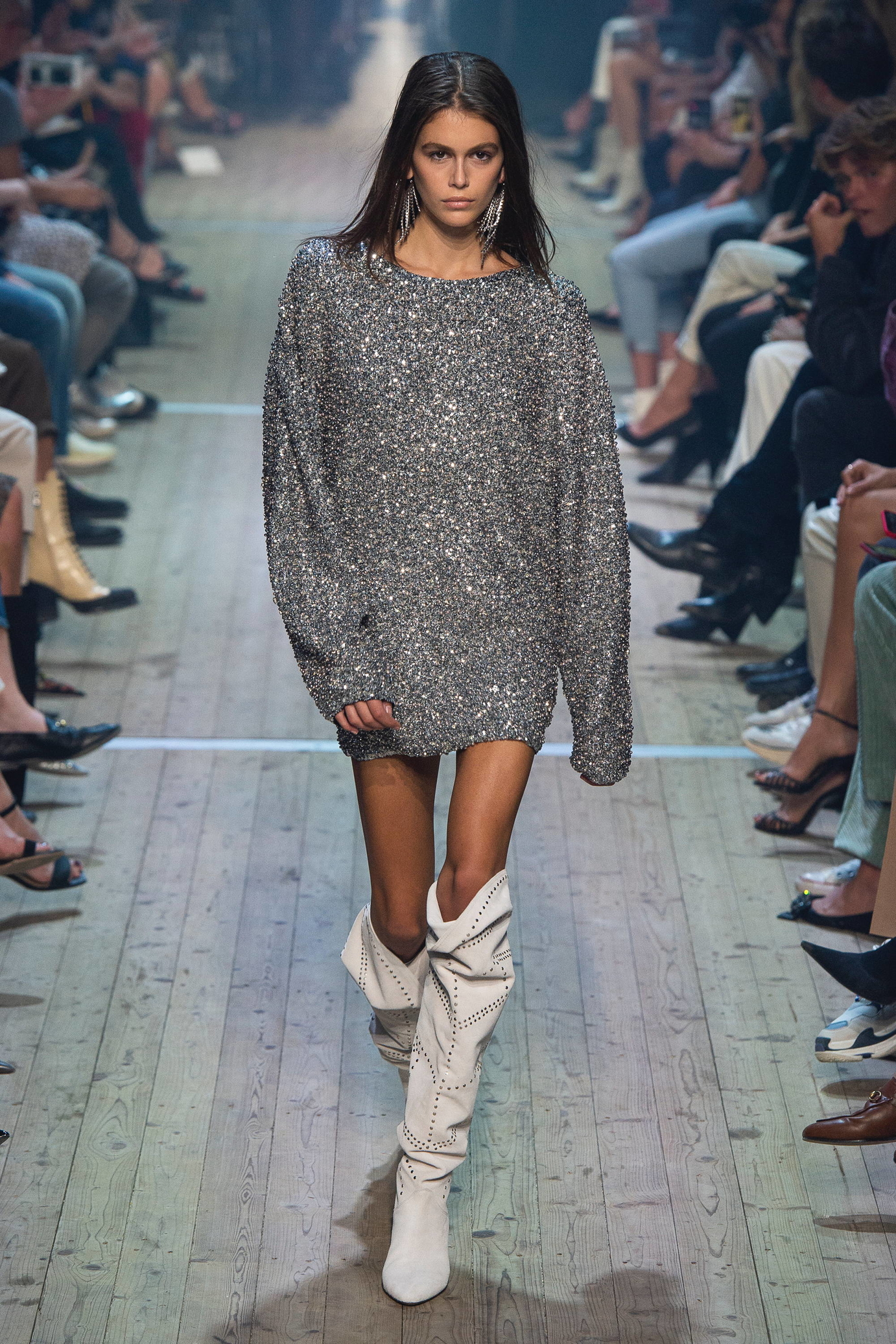 Defile Isabel Marant printemps été  F/W 2019