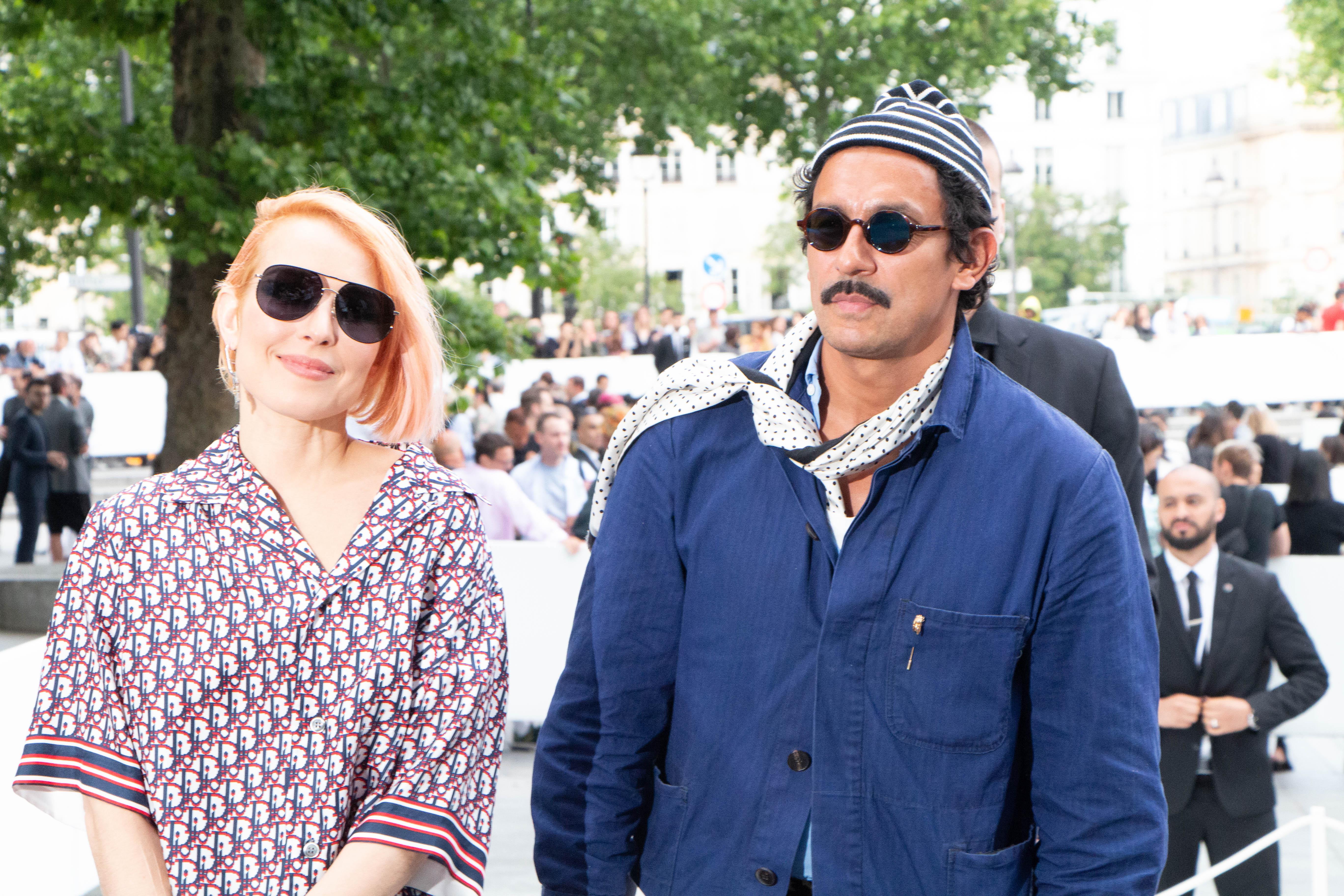 Noomi Rapace & Haider Ackermann