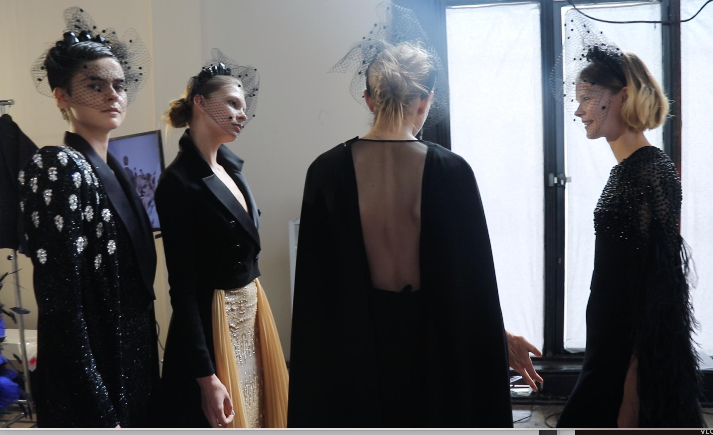 Photo Georges Chakra haute couture automne hiver -2019-2020
