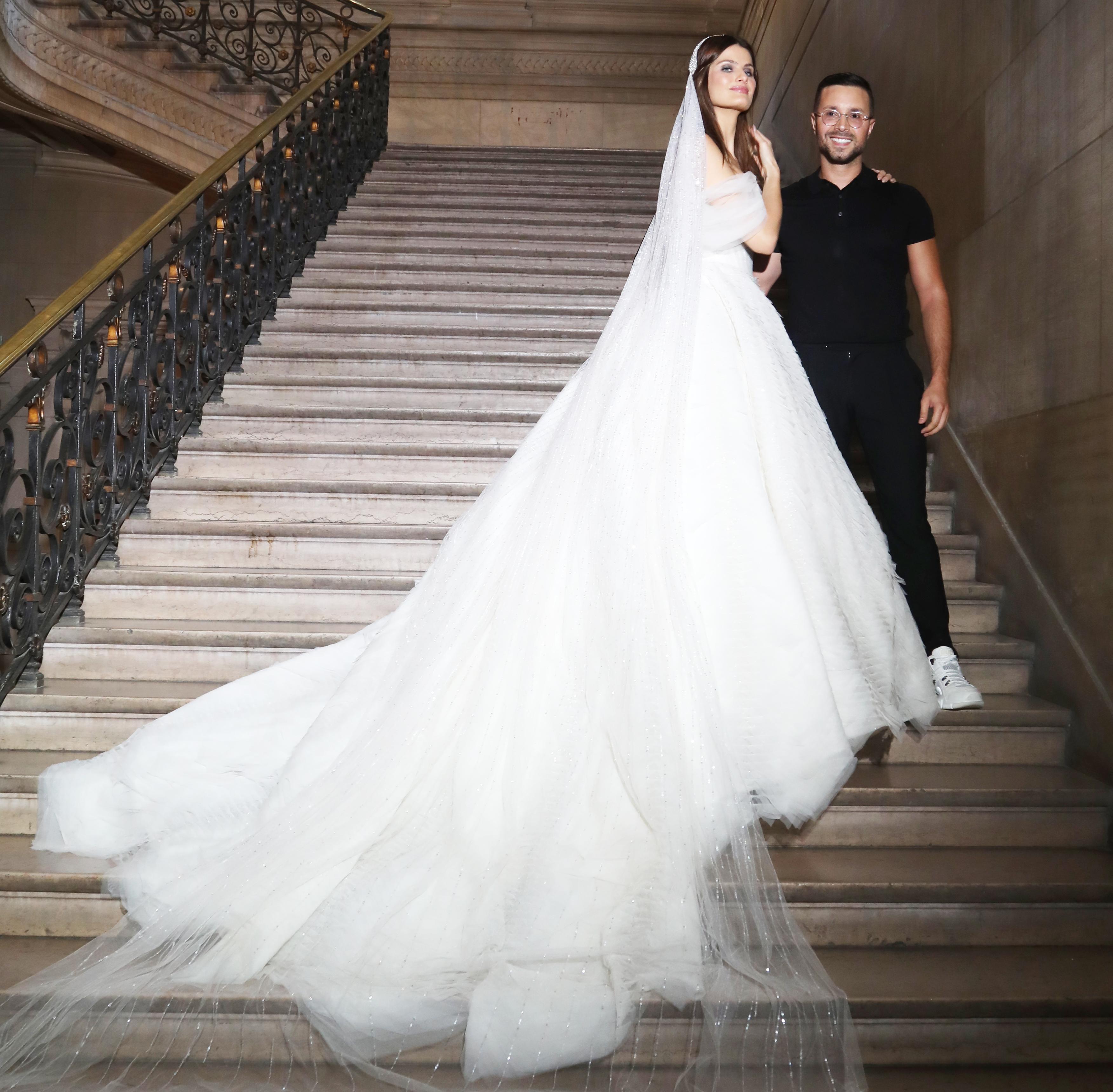 photo Rami Kadi haute couture 2019-2020-mariée et créateur (c) Marie Goujon