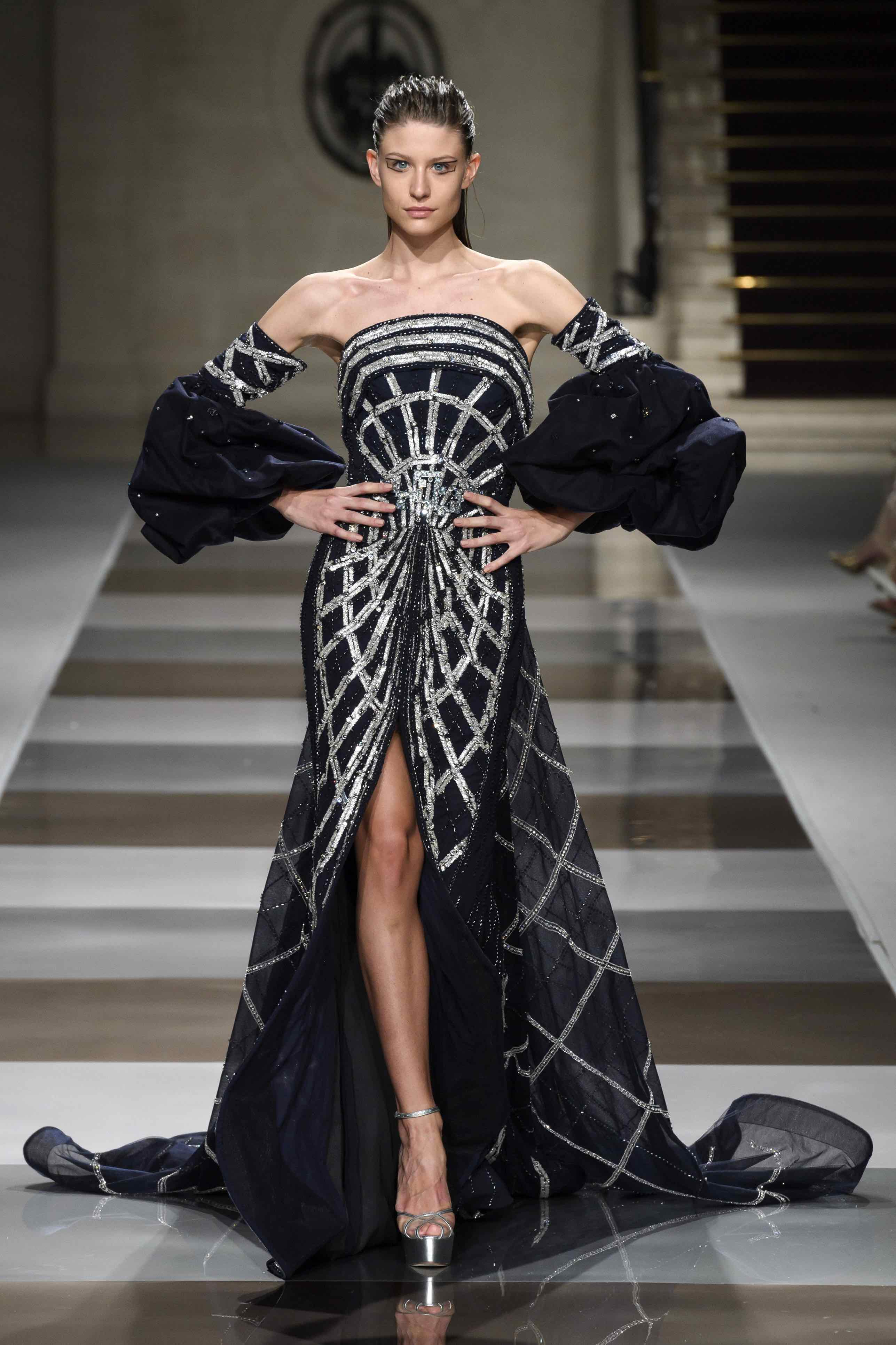Ziad Nakad « TESSERA » Collection Couture Automne Hiver 2019/2020