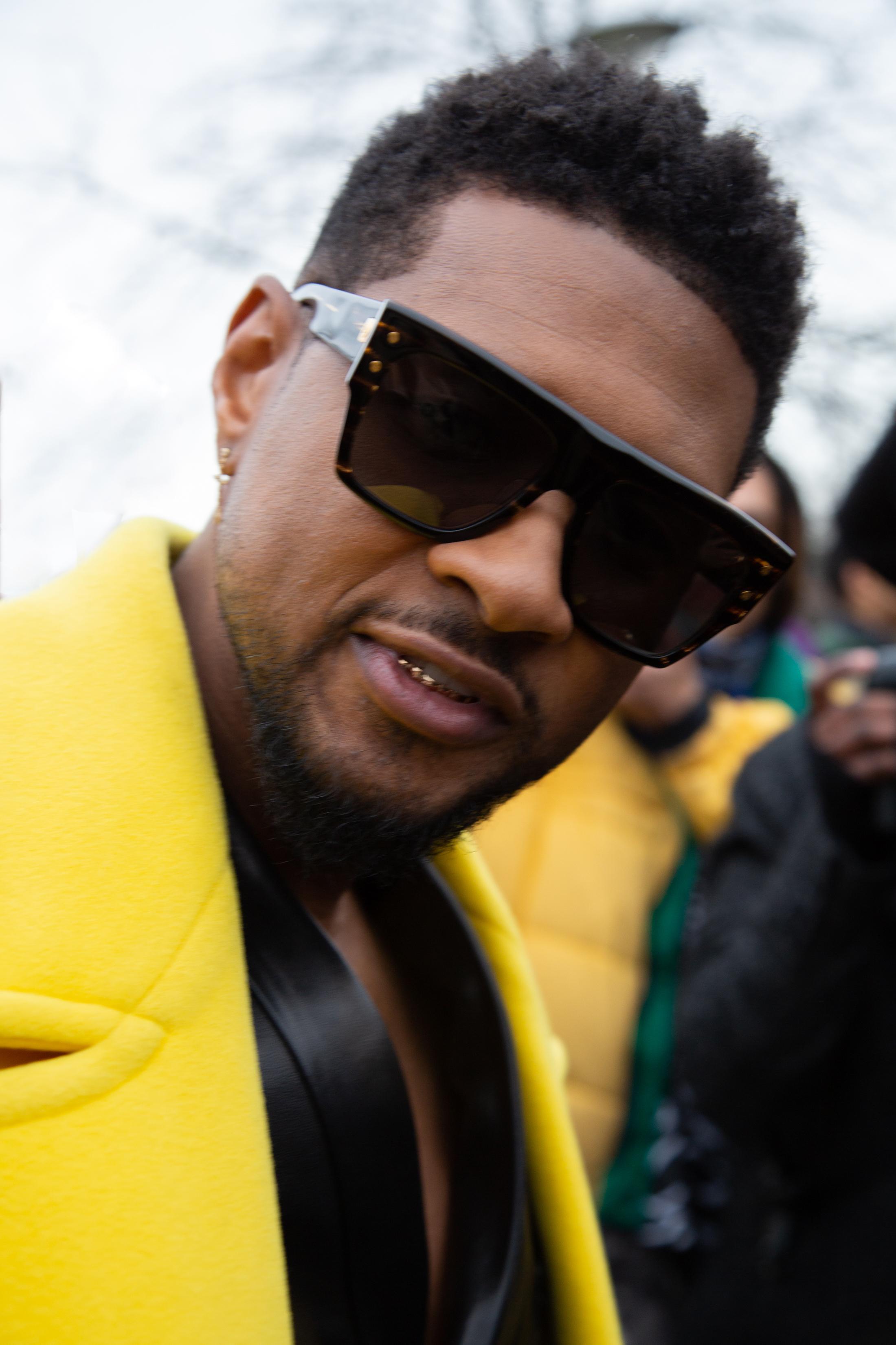 Usher-balmain