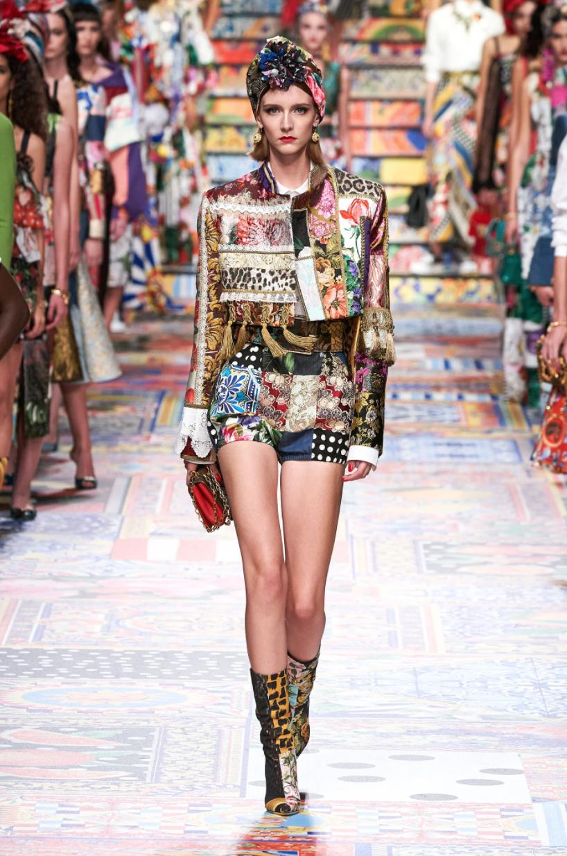 Dolce & Gabbana prêt à porter-printemps été 2021